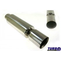 Sport kipufogó dob TurboWorks 105 3'' 76mm be 102mm ki